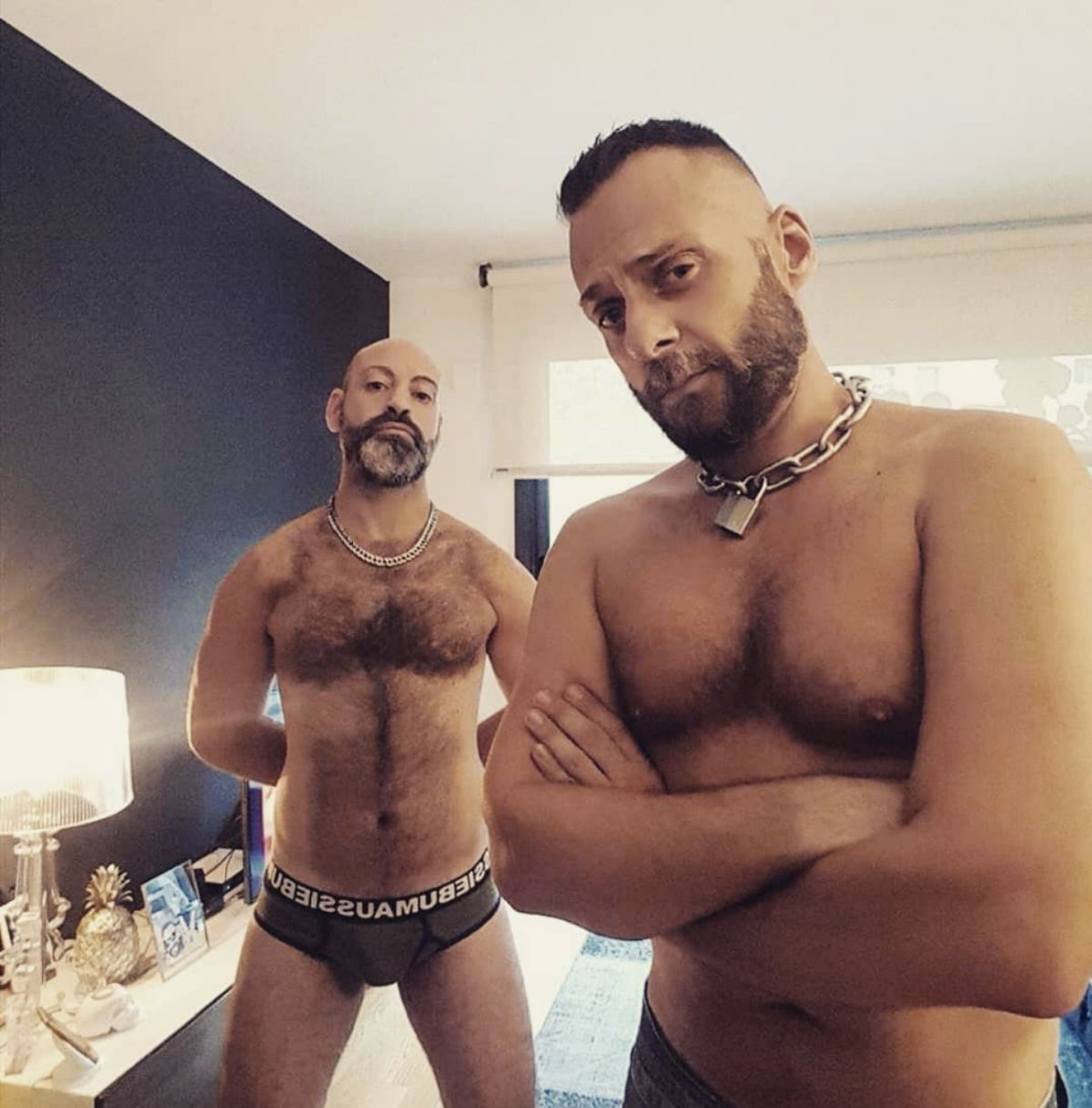 Free nudes of Leather couple of Barcelona onlyfans leaked